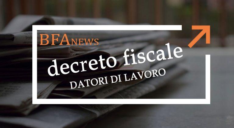 Decreto Fiscale 2020: novità edilizia