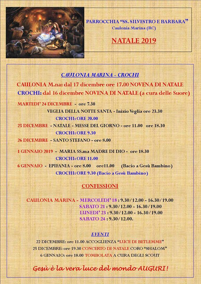 Natale 2019 – Caulonia M. e Crochi