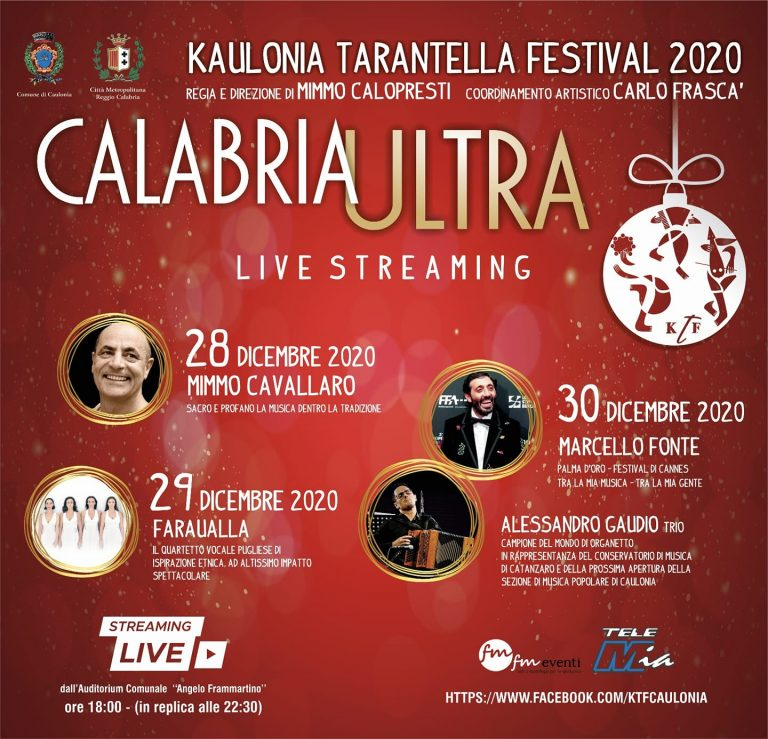 Kaulonia Tarantella Festival 2020 – Live Streaming