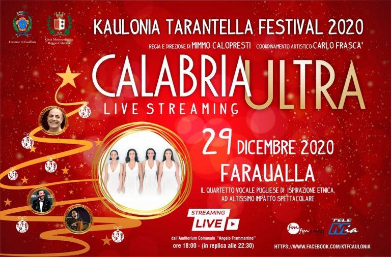 Kaulonia Tarantella Festival 2020 Live – Faraualla