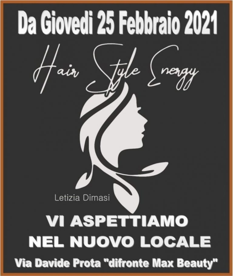 Cambio Sede – Hair Style energy di Letizia Dimasi