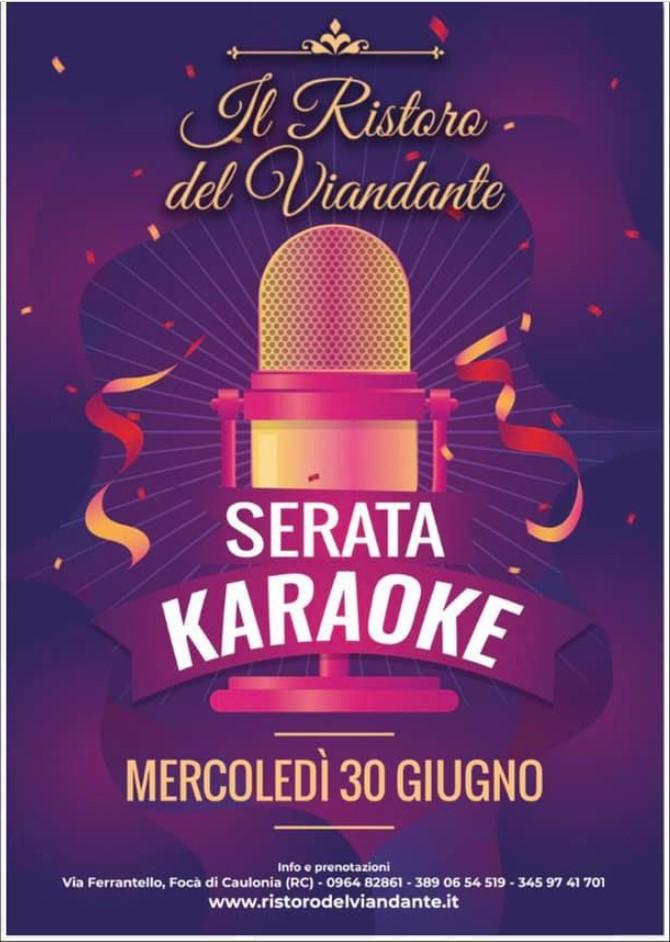 Il Ristoro del Viandante – Serata Karaoke