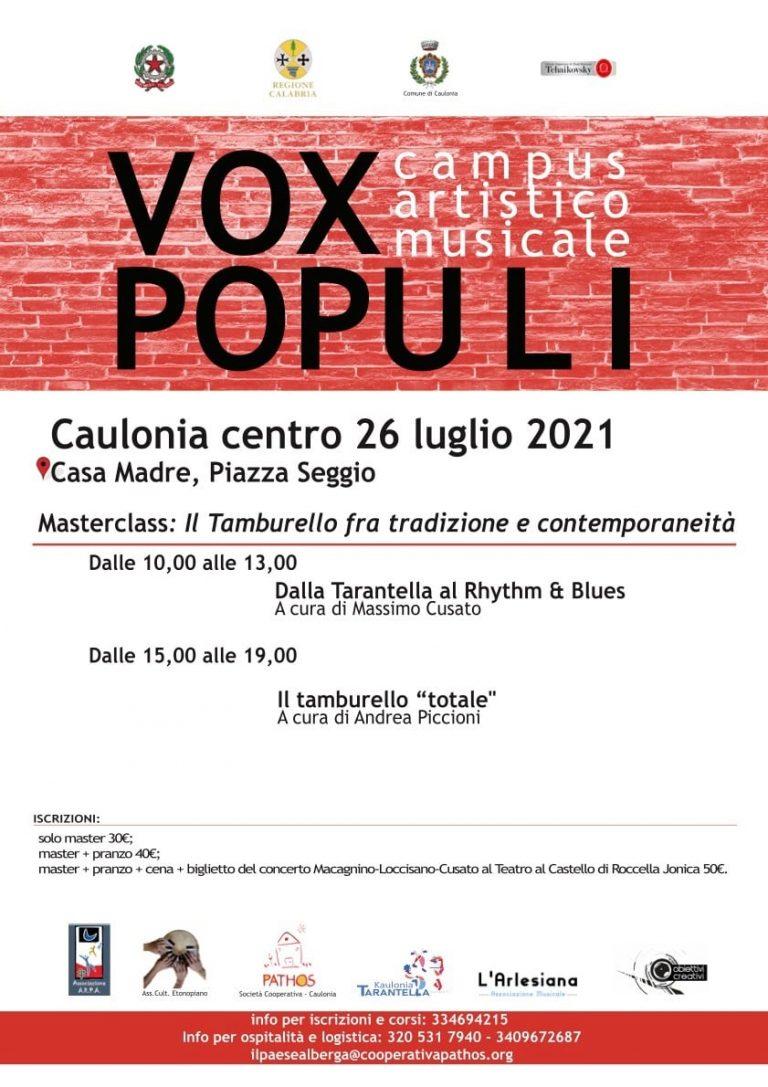 Vox Populi – Campus Artistico Musicale